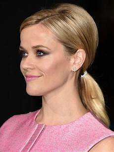 celebrity hairstyle idea reese witherspoon s sexy ponytail how to glamour