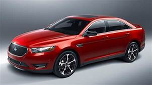 2015 Ford Taurus SHO Red Pictures  Wish List