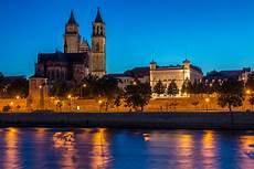 Magdeburg Quot Skyline Quot 2 Foto Bild Architektur