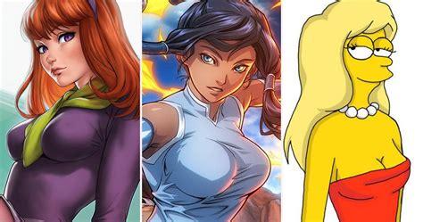 Cartoon Characters Grown Up