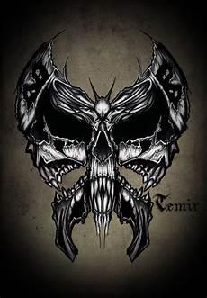 Skull Butterfly By Timhag On Deviantart