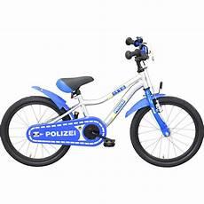fahrrad 18 zoll bachtenkirch streety polizei 18 zoll kinderfahrrad