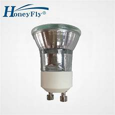 halogen gu10 honeyfly10pcs dimmable mini halogen bulb gu10 35w c 35mm