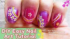 easy nail art without tools nail art tutorial for