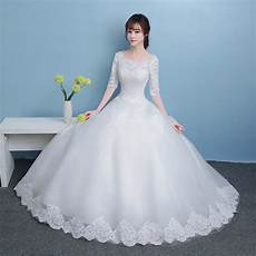 White Wedding Gown On