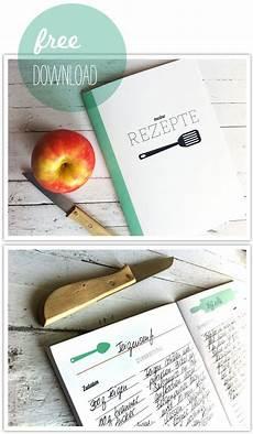 freebie rezeptheftchen kochbuch vorlage kochbuch