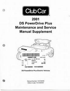 what is the best auto repair manual 2001 chevrolet cavalier parking system 2001 club car ds powerdrive plus maintenance and service