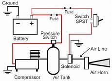 air horn wiring diagram with relay wiring diagram