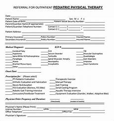 free 7 sle physical therapy evaluations in exles format