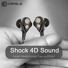 Cafele Professional Wired Earphone Noise by Aliexpress Buy Cafele 4d Professional Enthusiast In