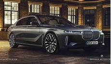 Facelift Bmw 7 Series Rendered Using X7 Styling Cues