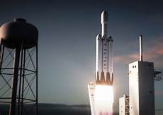 Spacex Releases Animation Of Falcon Heavy Launching From