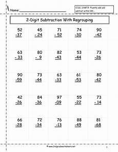 free printable math worksheets subtraction with regrouping 10677 two digit subtraction worksheets math subtraction subtraction worksheets