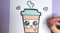 Bilder Zum Leicht Nachmalen Kawaii Kaffee Getr 228 Nk Malen Kawaii Bilder Zum Nachmalen