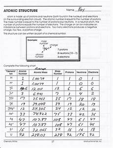 isotope practice worksheet with answers 2nd page