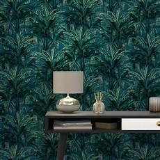 papier peint intiss 233 brasilia coloris bleu p 233 trole
