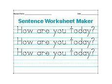 creating handwriting worksheets in microsoft word 21425 type in single words and print your own tracing sheets great for a kid learning to write his