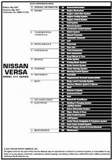 small engine repair manuals free download 2008 nissan xterra seat position control repair manuals nissan versa 2008 repair manual