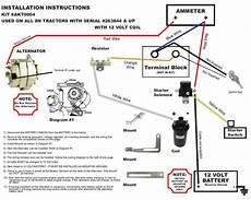 new generator alternator conversion kit late ford 8n tractors akt0004