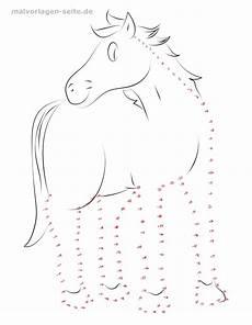 Punkte Verbinden Vorlagen Kostenlos Malen Nach Zahlen Zum Ausdrucken Pferde Kostenlos Zum