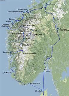 fähre hirtshals kristiansand wohnmobil norwegen route
