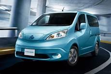 Nissan E Nv200 Reichweite - elektro familienauto nissan e nv200 evalia im vergleich
