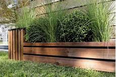 Bordure De Jardin En Bois 224 Planter 100 X 1 6 X 43 Cm