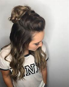 Easy But Effective Hairstyles 33 simple hairstyles for hair for the lazy