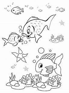 animals coloring pages for preschoolers 16870 fish coloring pages for preschool preschool and kindergarten