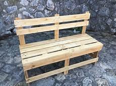 Banc En Palette Design In The Wood For