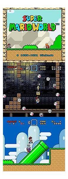 Malvorlagen Mario Emulator Mario World Snes Emulator