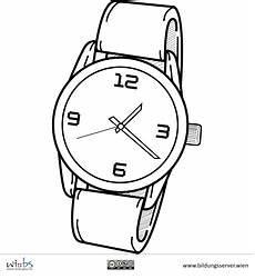 Uhr Malvorlagen Word Armbanduhr Peace Peace Gesture
