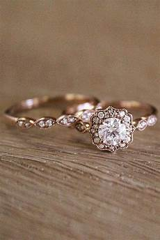30 vintage wedding rings for brides who love classic oh so