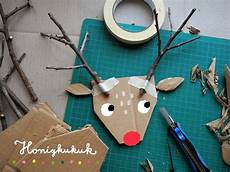 pappmach 233 hirschkopf aus pappe basteln weihnachten