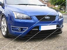 ford focus mk2 st front lip splitter valance ebay