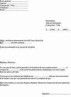 Changement D Abonnement Edf Mod 232 Le De Lettre Pour R 233 Silier Abonnement Gdf Suez Dolcevita