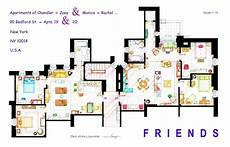 sitcom house floor plans artist draws beautiful floor plans of famous tv show homes