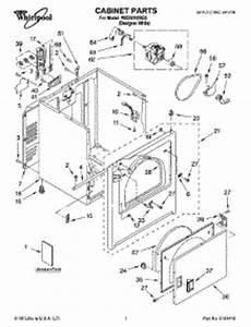 parts for whirlpool wed5310sq0 dryer appliancepartspros com