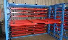 6 8 feet parag sheet metal rack storage capacity 400 600 kgs rs 7000 piece id 11192425133