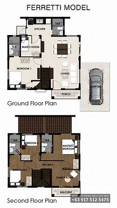 ferretti house plan ferretti crown asia philippines premium house and lot