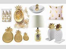 Gold Pineapple Decor Ideas