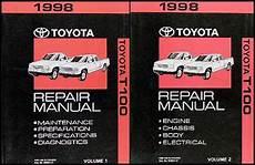 online car repair manuals free 1998 toyota t100 engine control 1998 toyota t100 truck wiring diagram manual original