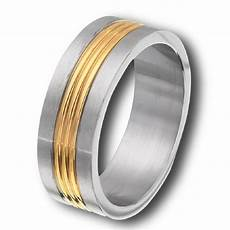 men s stainless steel gold tone plated grooved wedding band ring ebay