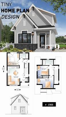 country small and affordable starter home plan 2 to 3