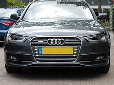 audi s4 grille in place
