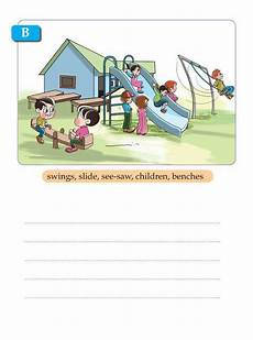 Writing Skill Grade 1 Picture Composition 8