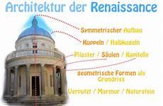 renaissance merkmale architektur renaissance epoche merkmale werke vertreter