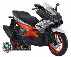 Modifikasi Motor Aerox by 79 Modifikasi Motor Aerox 155 Warna Merah Terbaik