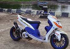 Mio Smile Modif by Modifikasi Mio Smile Modifikasi Motor Kawasaki Honda Yamaha