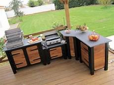 meuble cuisine exterieur cuisine d 233 t 233 20 cuisines d ext 233 rieur pour s inspirer